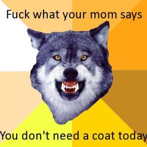 wolf ur mom